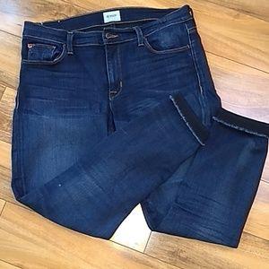 Hudson Krista super skinny crop jeans 30